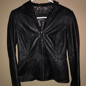 Bernardo Genuine Leather Jacket